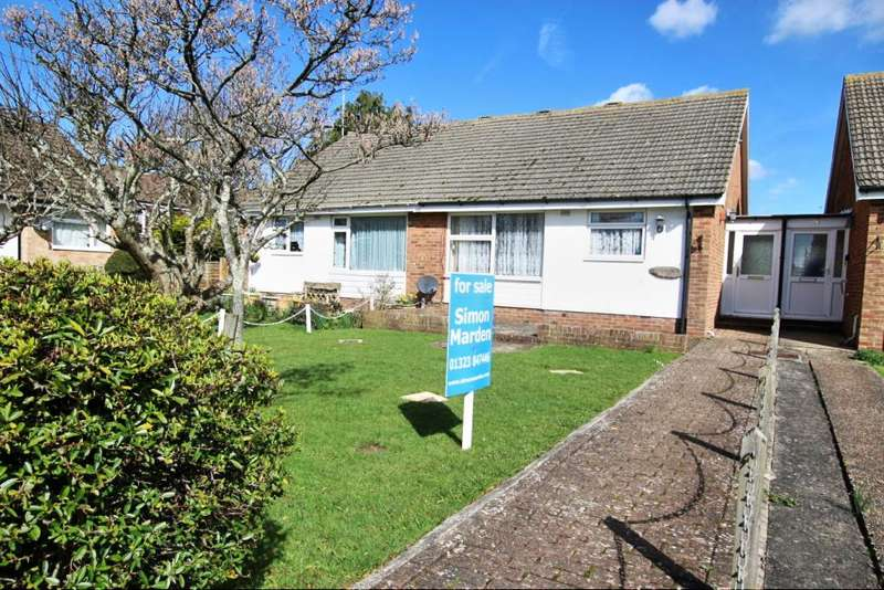 2 Bedrooms Semi Detached Bungalow for sale in Bramble Drive, Hailsham BN27