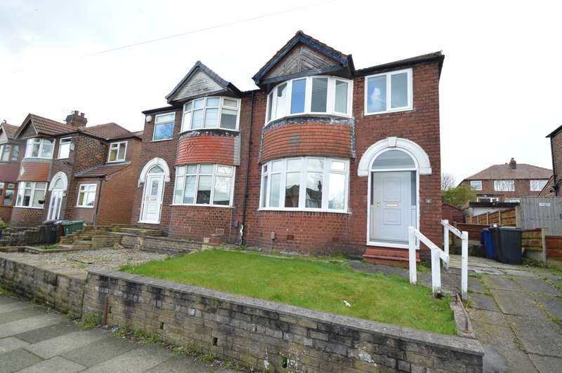 3 Bedrooms Semi Detached House for sale in Stanway Road, Whitefield, Manchester, M45