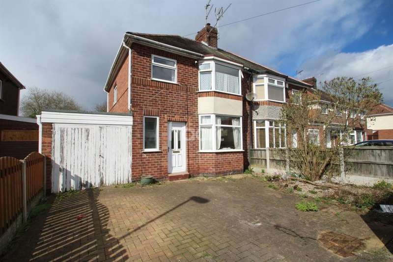 3 Bedrooms Semi Detached House for sale in Shortwood Avenue, Nottingham