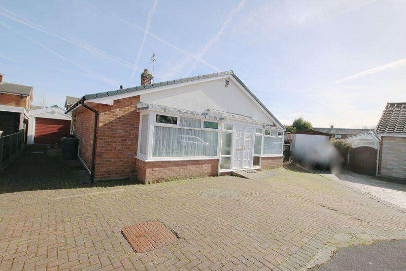 2 Bedrooms Detached Bungalow for sale in Osbert Croft, Longton