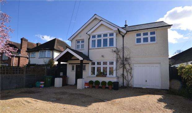 4 Bedrooms Detached House for sale in Park Road, Camberley, Surrey
