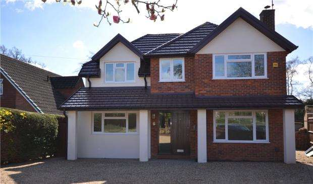 4 Bedrooms Detached House for sale in Watchetts Lake Close, Camberley, Surrey