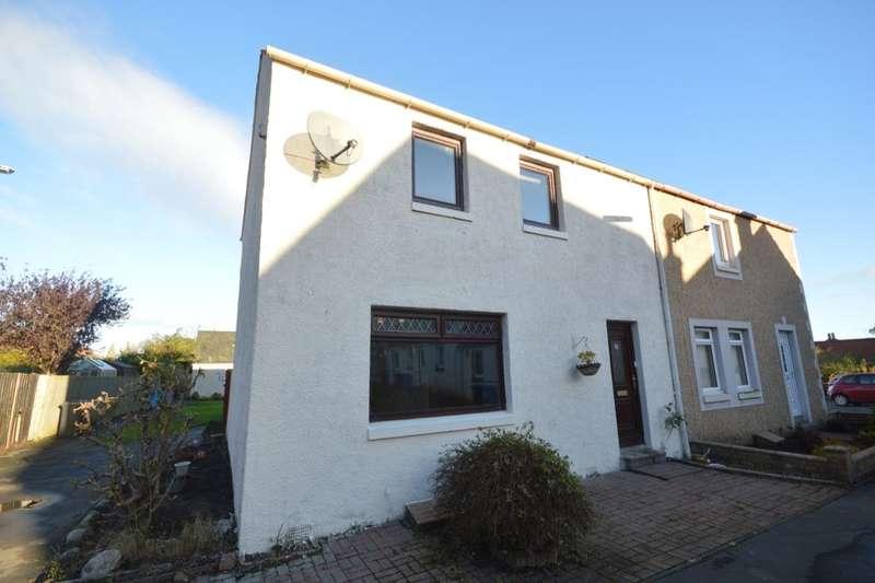 3 Bedrooms Semi Detached House for sale in Castle Park, Falkland, Cupar, KY15