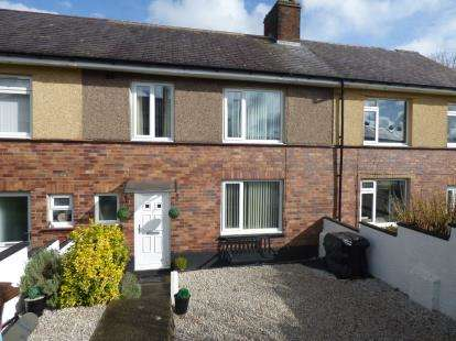 3 Bedrooms Terraced House for sale in Queens Avenue, Bangor, Gwynedd, LL57