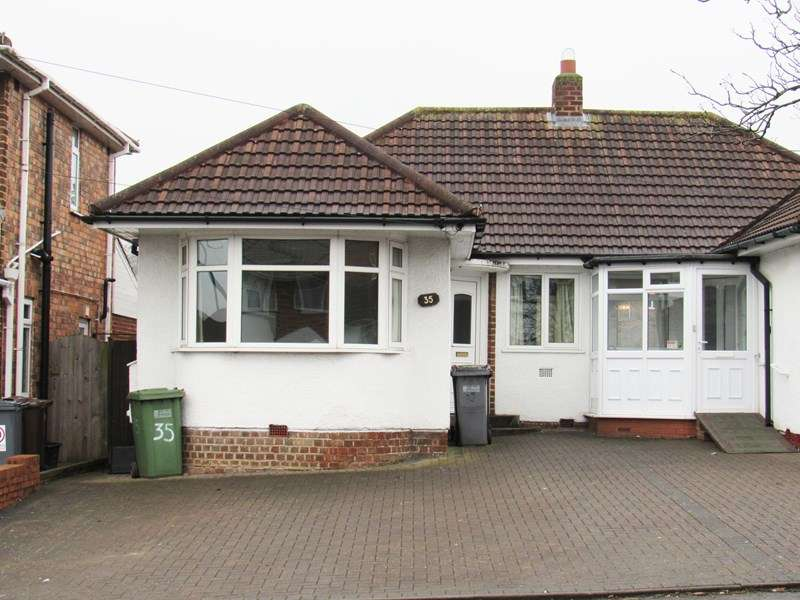 3 Bedrooms Semi Detached Bungalow for sale in Marcot Road, Solihull