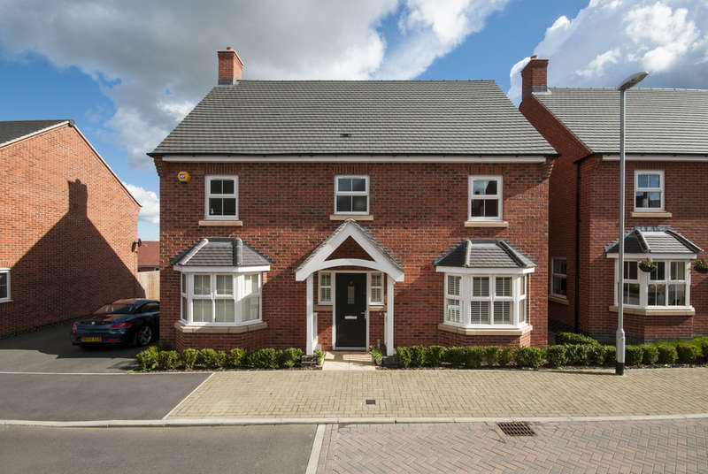 4 Bedrooms Detached House for sale in Lightning Lane, Castle Donington