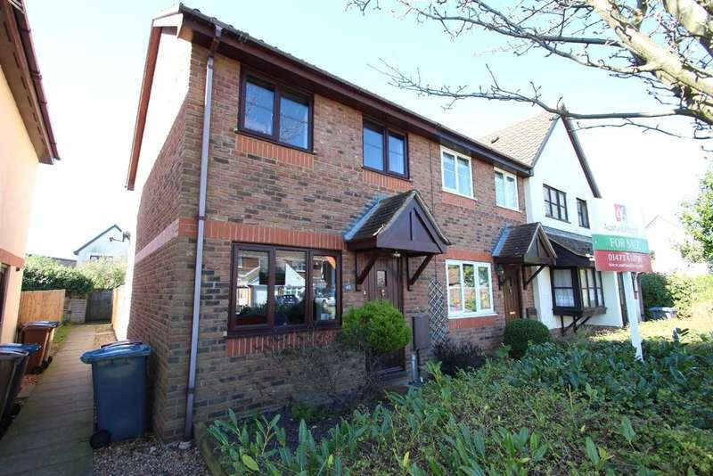 2 Bedrooms End Of Terrace House for sale in Stewart Young Grove, Grange Farm, Kesgrave, Ipswich
