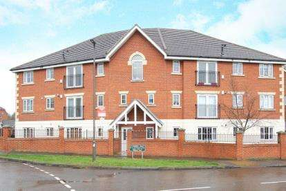 2 Bedrooms Flat for sale in Stanier Way, Renishaw, Sheffield, Derbyshire