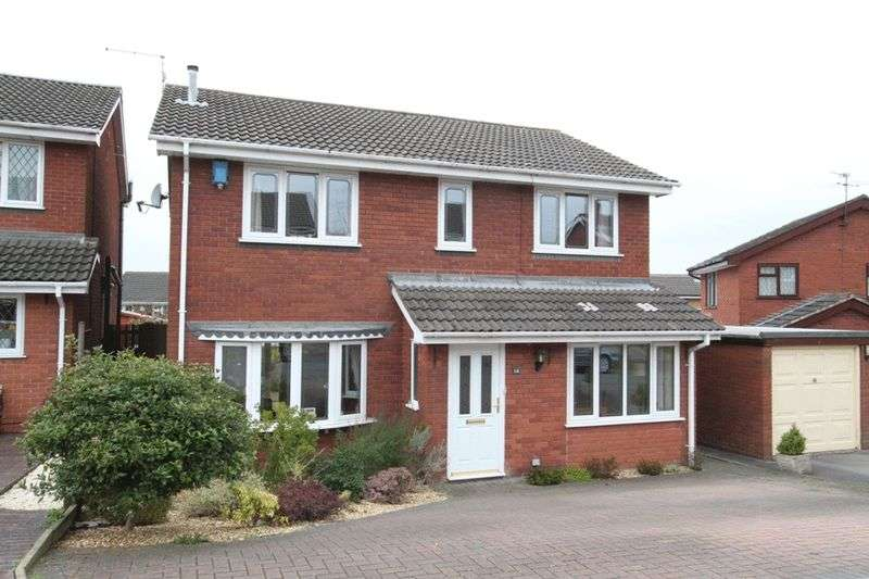 4 Bedrooms Detached House for sale in Hopedale Close, Westbury Park