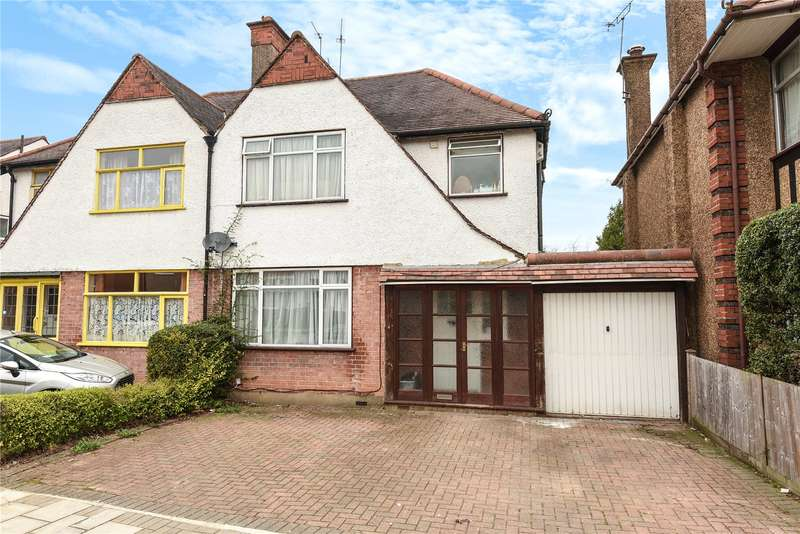 4 Bedrooms Semi Detached House for sale in Kings Way, Harrow, Middlesex, HA1