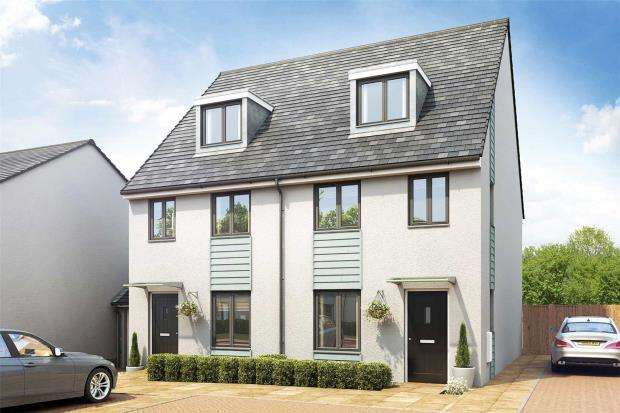 3 Bedrooms Semi Detached House for sale in Cann Bridge Meadow, Miller Way, Estover, Plymouth