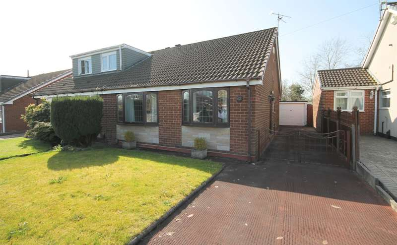 2 Bedrooms Semi Detached Bungalow for sale in Bowness Road, Little Lever, Bolton, BL3 1UB