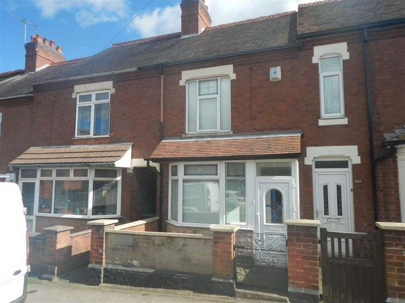 3 Bedrooms Terraced House for sale in Church Road, Nuneaton, Warwickshire, CV10
