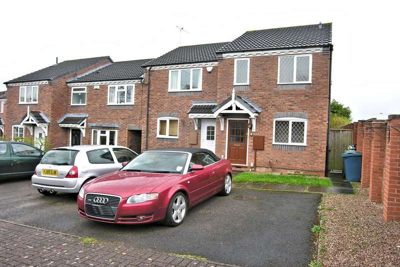 2 Bedrooms End Of Terrace House for sale in EDWARDS DRIVE, CASTELFIELDS, STAFFORD ST16
