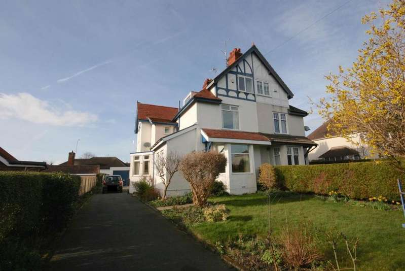 5 Bedrooms Semi Detached House for sale in 1 Albert Drive, Deganwy, LL31 9SP