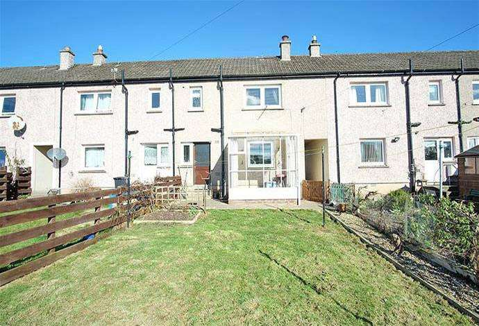 3 Bedrooms Terraced House for sale in 40 Kenilworth Avenue, Galashiels, TD1 2DB