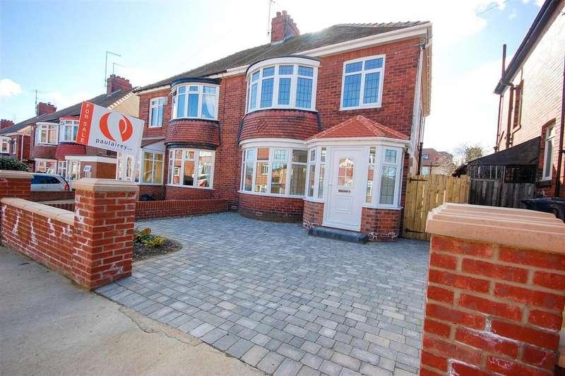 3 Bedrooms Semi Detached House for sale in Tunstall Park, Ashbrooke, Sunderland