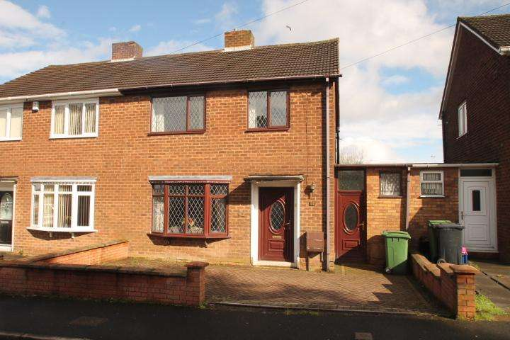 3 Bedrooms Semi Detached House for sale in Poplar Green, Dudley, DY1