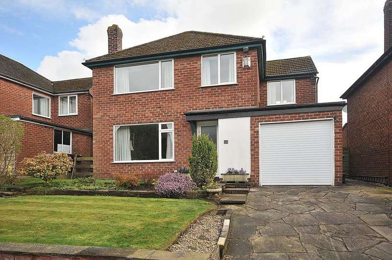 4 Bedrooms Detached House for sale in Meadow Drive, Knutsford