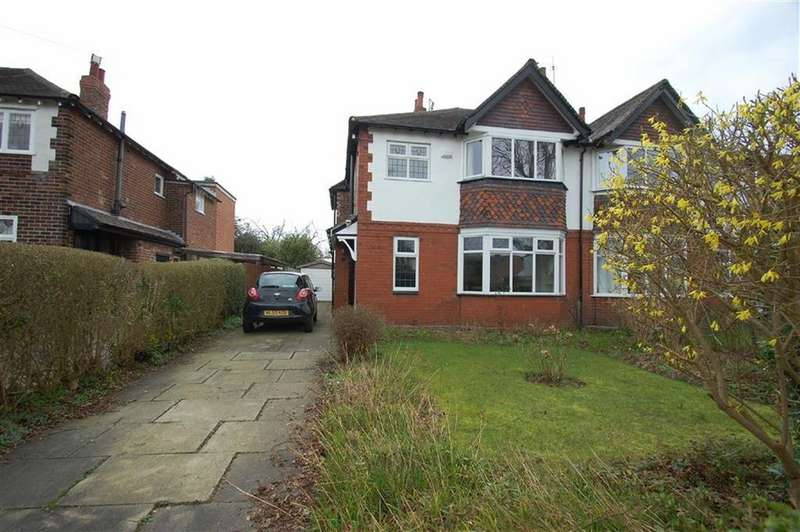 3 Bedrooms Semi Detached House for sale in North Park Road, Bramhall, Cheshire