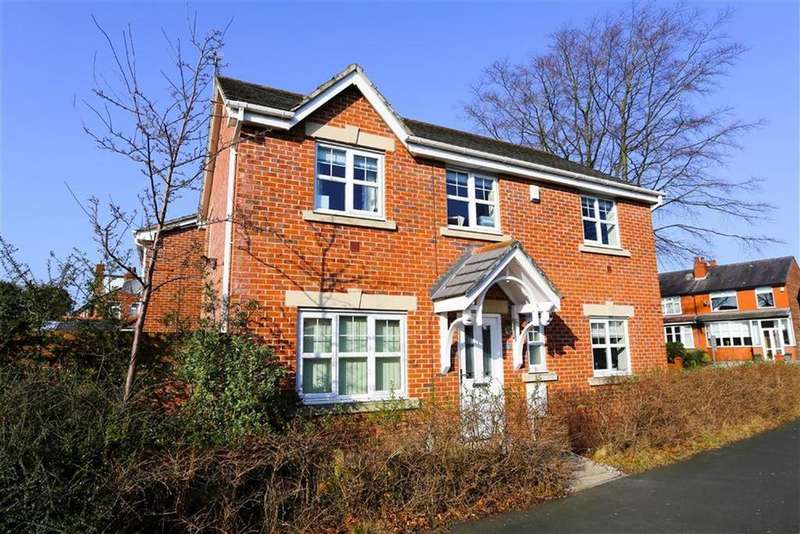 4 Bedrooms Detached House for sale in Scholars Drive, Cheadle Heath, Stockport