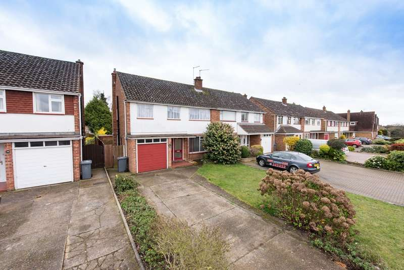 4 Bedrooms Semi Detached House for sale in Arundel Way, Ipswich
