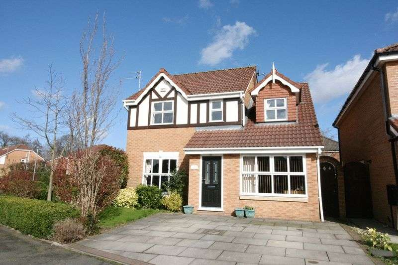4 Bedrooms Detached House for sale in Amberhill Way Boothstown Worsley