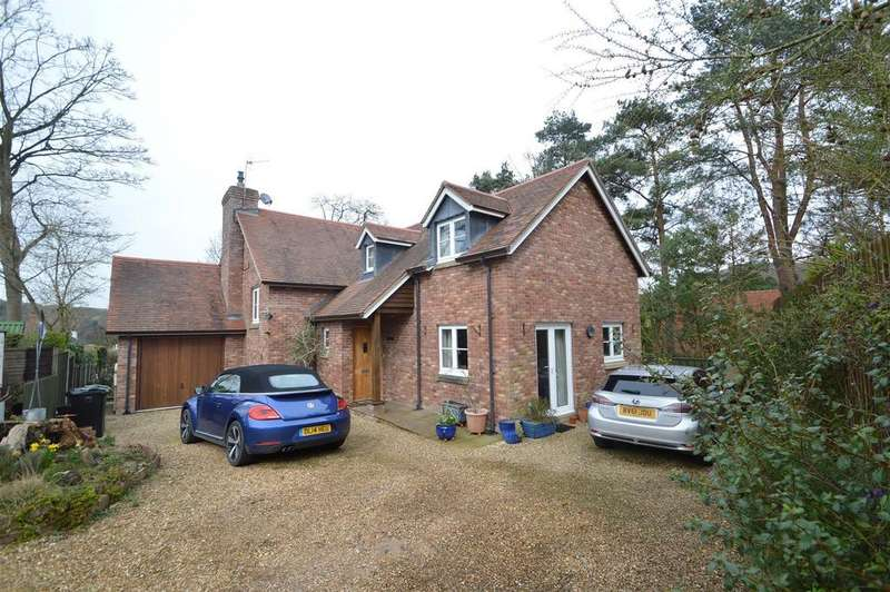 4 Bedrooms Detached House for sale in Sandford Lodge, Clive Avenue, Church Stretton, SY6 7BS