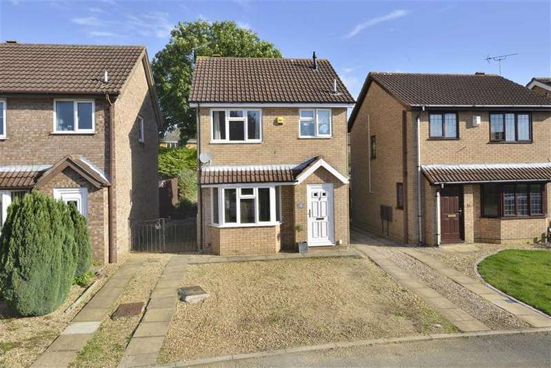 3 Bedrooms Detached House for sale in Charnwood Drive, Barton Seagrave