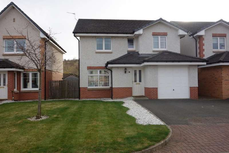4 Bedrooms Detached House for sale in Munnoch Way, Plean, Stirling, Scotland, FK7 8GA