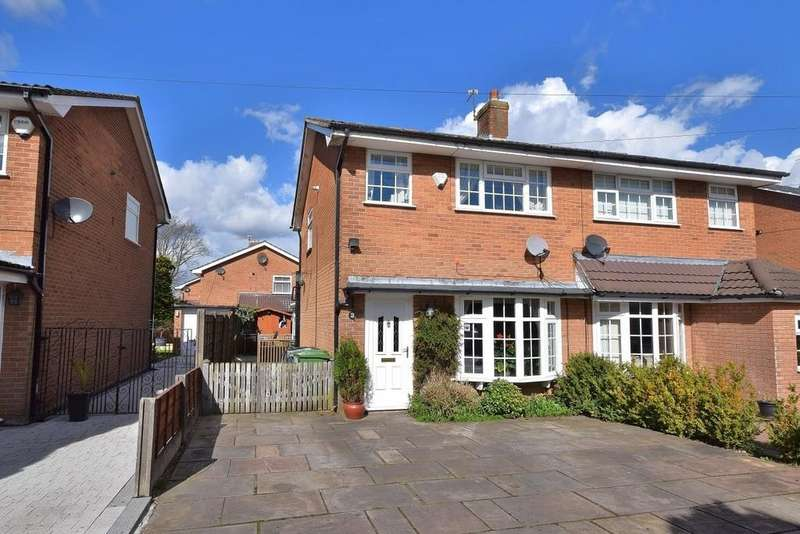 3 Bedrooms Semi Detached House for sale in Dunlin Close, Poynton