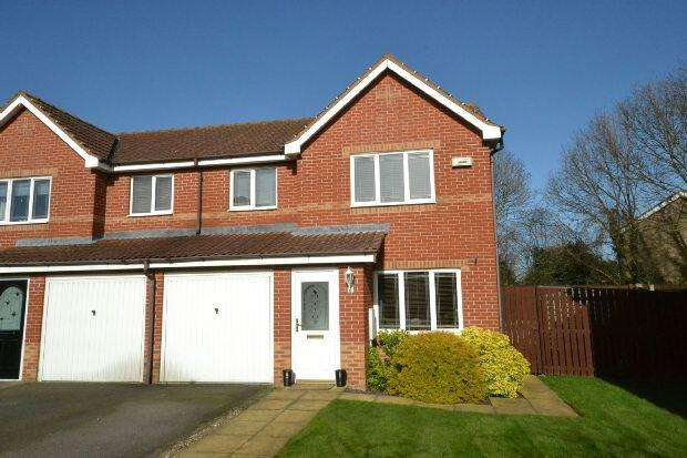 3 Bedrooms Semi Detached House for sale in Burley Close, Laceby, GRIMSBY