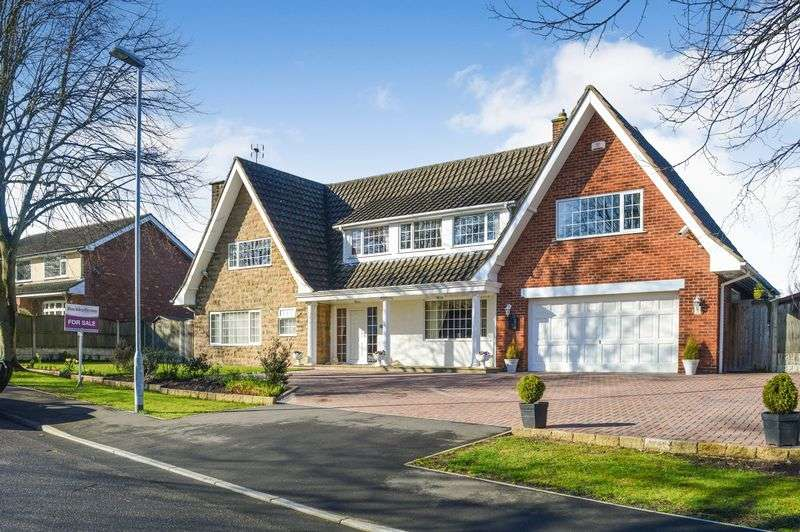4 Bedrooms Detached House for sale in Parkland Close, Mansfield