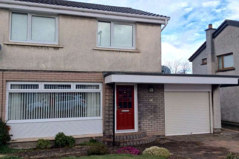 3 Bedrooms Semi Detached House for sale in Balnagowan Drive, Glenrothes, KY6
