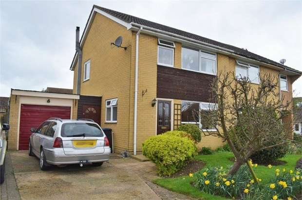 3 Bedrooms Semi Detached House for sale in Elm Close, Witchford, Ely, Cambridgeshire