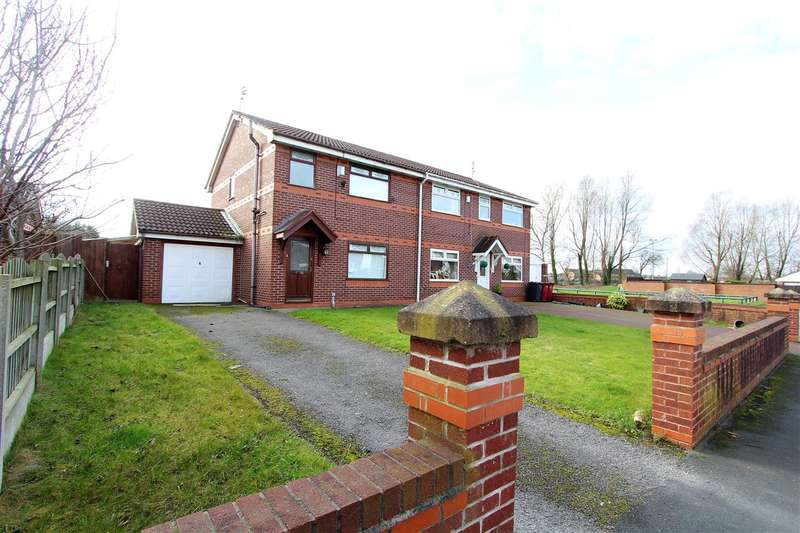 3 Bedrooms Semi Detached House for sale in Waterpark Drive, Stockbridge Village, Liverpool