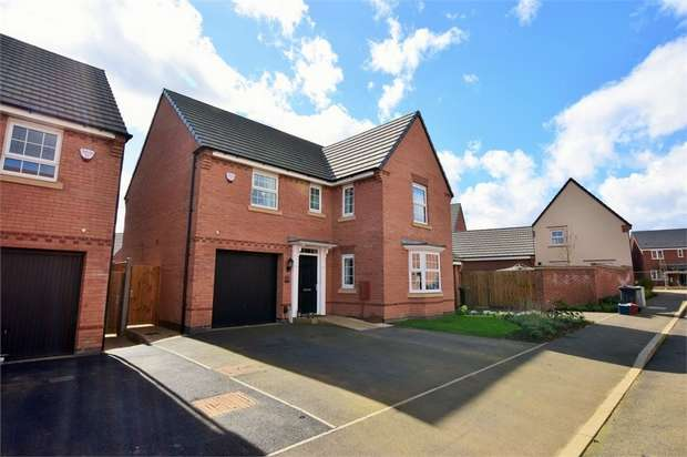 4 Bedrooms Detached House for sale in Irons Road, NORTHAMPTON