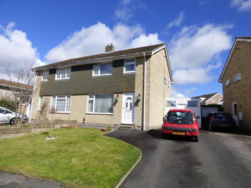 3 Bedrooms Semi Detached House for sale in Yeomans Way, Plympton
