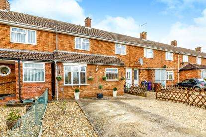 3 Bedrooms Terraced House for sale in Stoneley, Letchworth Garden City, Hertfordshire, England