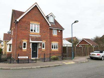 4 Bedrooms Link Detached House for sale in Benmore Rise, Westcroft, Milton Keynes, Bucks