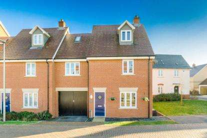 4 Bedrooms End Of Terrace House for sale in Tobago Drive, Newton Leys, Bletchley, Milton Keynes