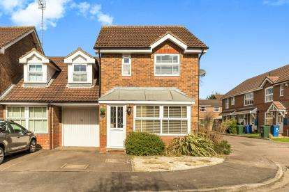 3 Bedrooms Link Detached House for sale in Delapre Drive, Banbury, Oxfordshire, Oxon
