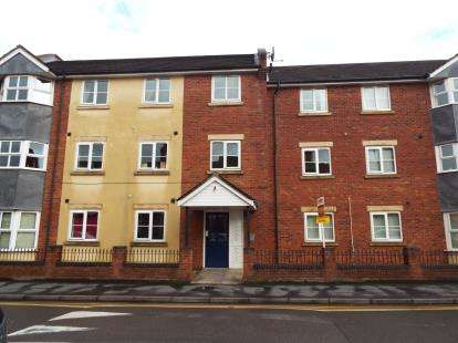2 Bedrooms Flat for sale in Edward Court, Edward Street, Nuneaton, Warwickshire