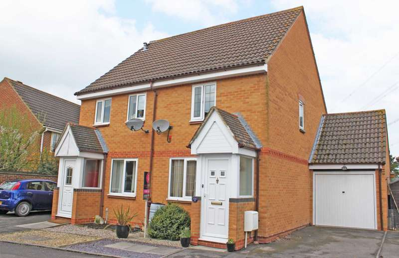 2 Bedrooms Semi Detached House for sale in Humber Close, Didcot