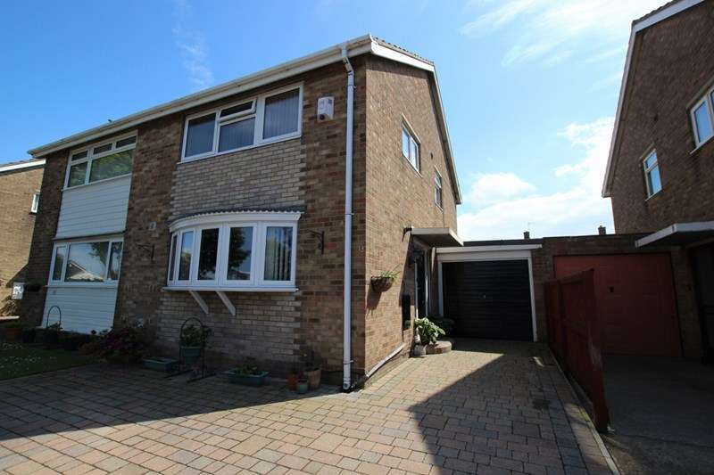 3 Bedrooms Semi Detached House for sale in Rossendale Close, Marske