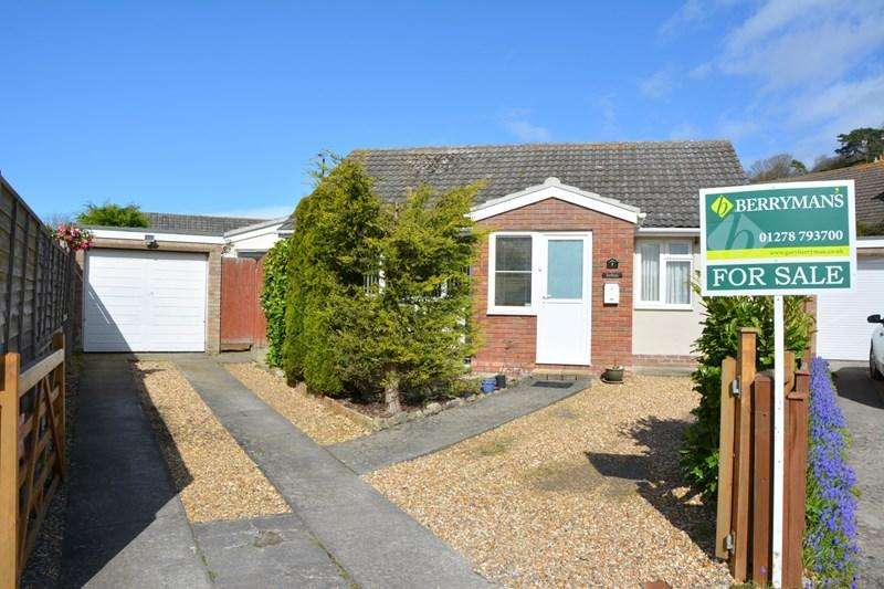 2 Bedrooms Detached Bungalow for sale in Brent Close, Brent Knoll