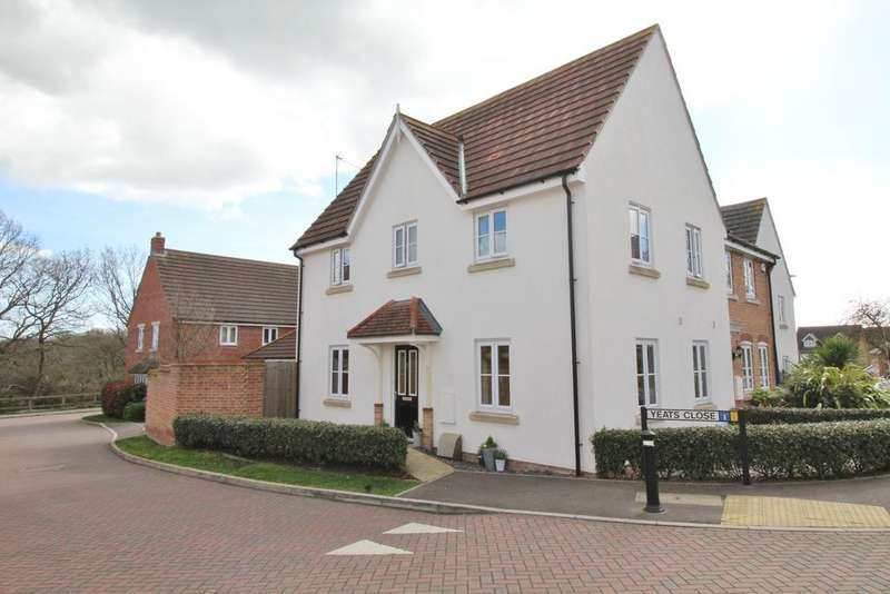 3 Bedrooms Semi Detached House for sale in Yeats Close, Whiteley