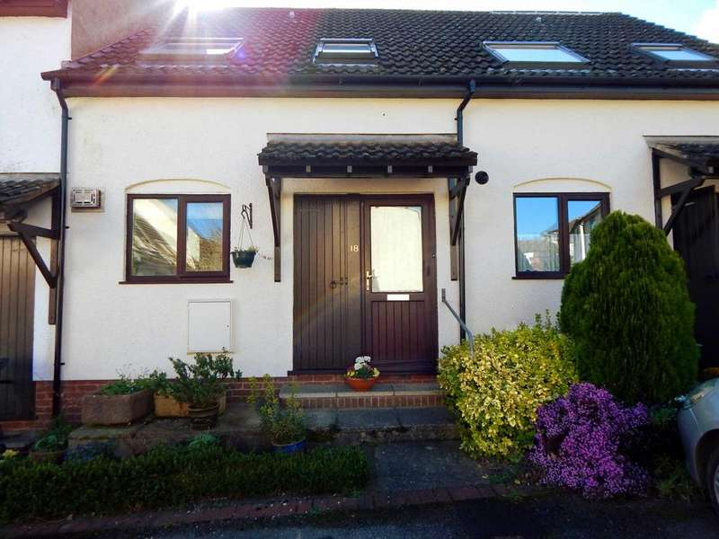 2 Bedrooms Terraced House for sale in Greenclose Court, Colyton, Devon