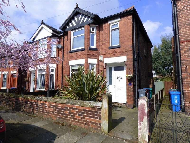 3 Bedrooms Semi Detached House for sale in Gloucester Avenue, Levenshulme, Manchester, M19