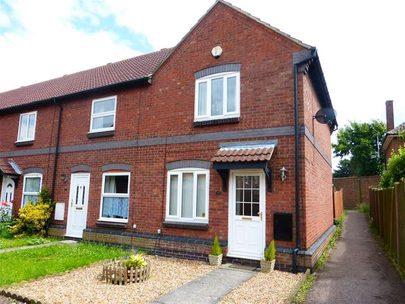 2 Bedrooms End Of Terrace House for sale in The Pastures, Stewartby, Bedford, MK43